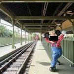 サバ塩と電車マナー